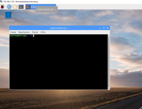 Remotezugriff auf den Raspberry pi