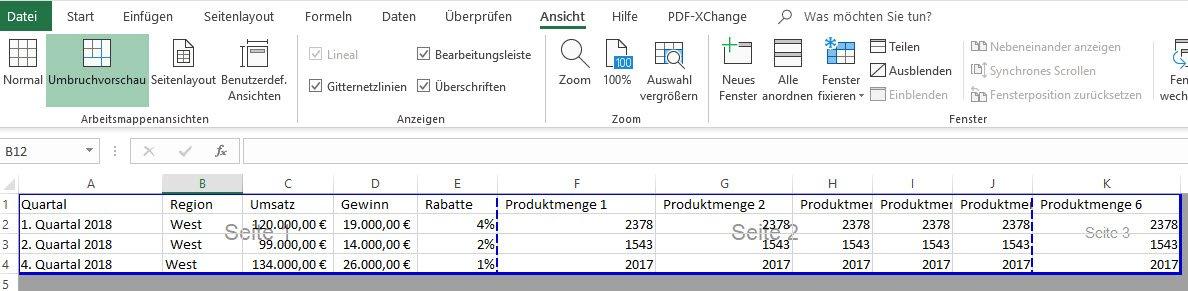 Excel Tabelle Drucken So Konnen Sie Ihre Tabellen Perfekt Ausdrucken