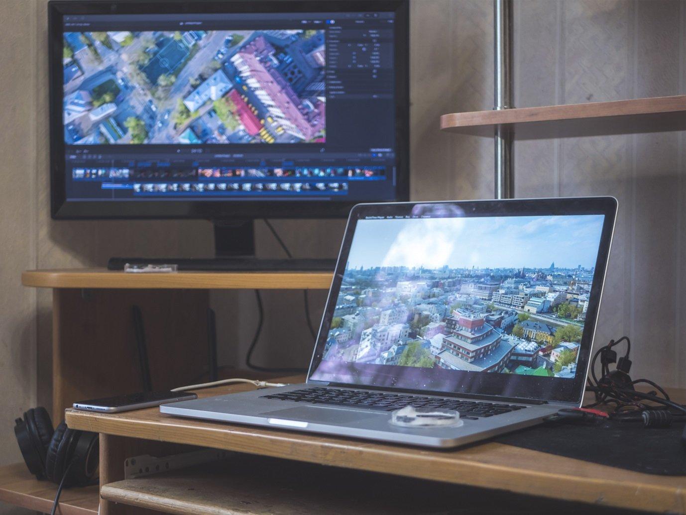 Desktop hintergrund uber 2 bildschirme strecken