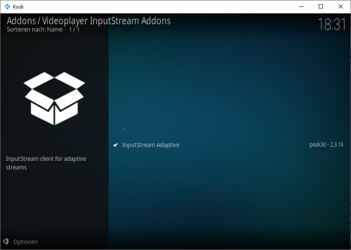 Kodi InputStream Adaptive