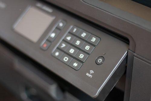 WLAN-Drucker mit Tastenfeld