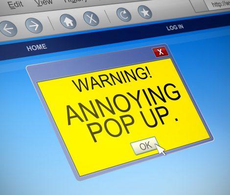 Adware Pop-Up
