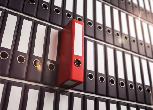 Digitale Buchhaltung erleichtert das Auffinden