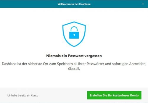 Dashlane Setup Windows 10