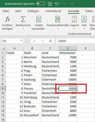 Excel Quell-Datei Wert ändern