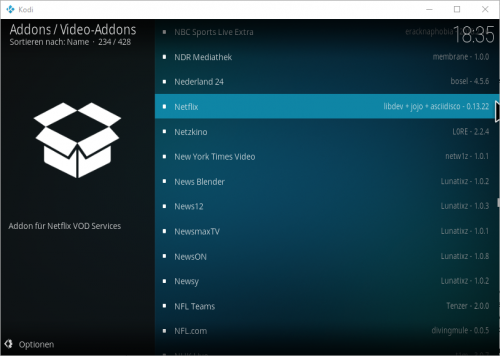kodi netflix video-addon netflix