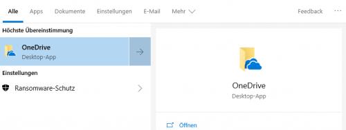 OneDrive Desktop App