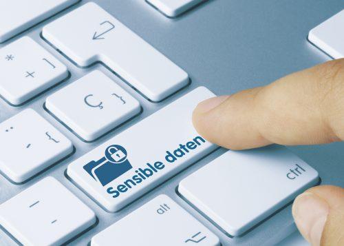Sicherheitsbutton Tastatur