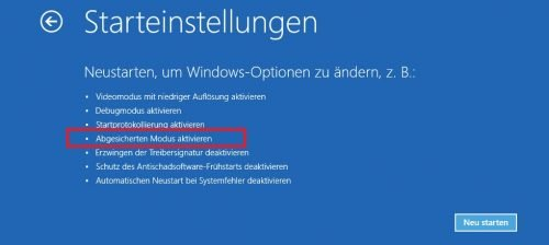 winRE Windows reparieren