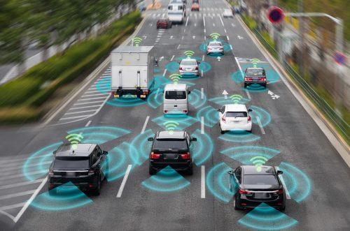 Vollkommen vernetzter Verkehr