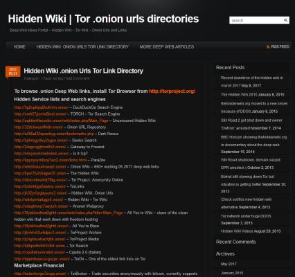 Hiden Wiki kennt viele Seiten aus dem Darknet
