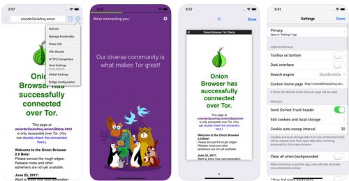 Onion Browser für iPhone und Zugang zum Darknet