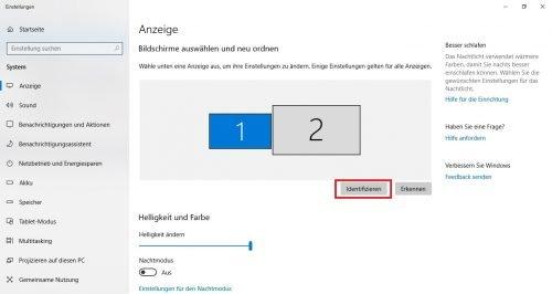 Windows 10 mehrere Monitore verwenden