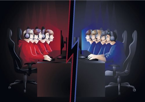 Gaming Wettkampf