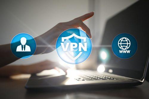 VPN als gängige Variante für mehr Privatsphäre im Internet.