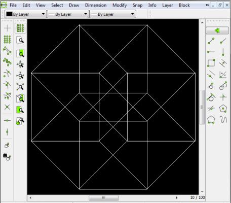 LibreCAD technische Zeichnungen Architektur