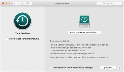 Apple Time Machine Backup