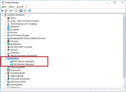 Microsoft Windows 10 Gerätemanager