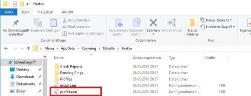 Firefox Konto nicht vorhanden komplett deinstallieren Software