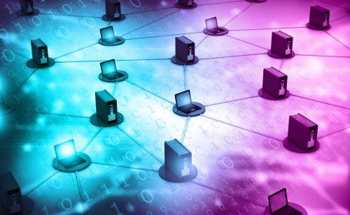 Load-Balancer Server Netzwerk Zeit