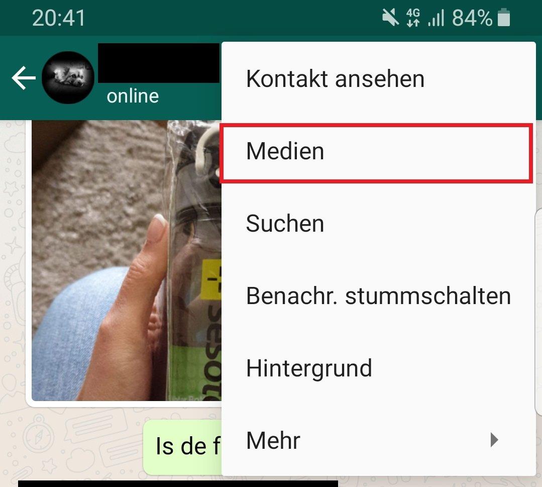 Whatsapp Medien Löschen