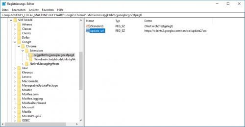 Windows 10 Programme deinstallieren Registry Tipps
