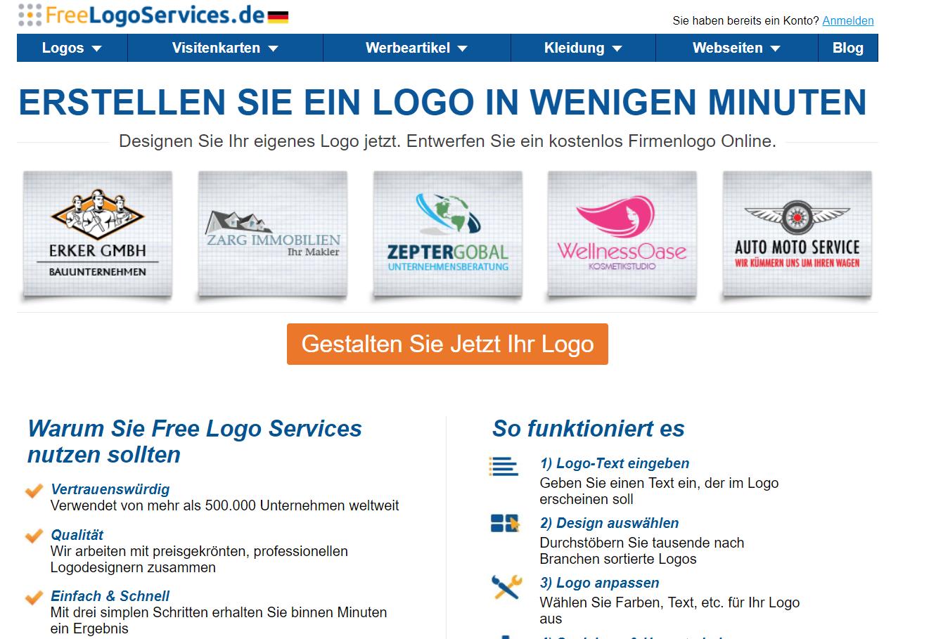 Logo Erstellen Programm Oder Online Tool Wintotal De
