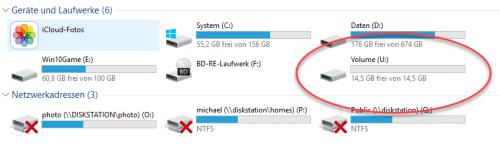 USB-Stick wird nun von Windows erkannt
