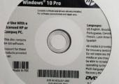 Windows 10 OEM-Datenträger
