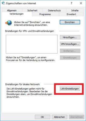 Chrome Web Proxy Server nutzen