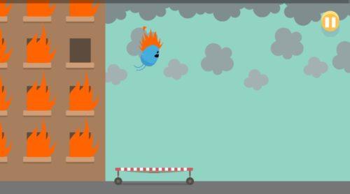 """Screenshot der """"Dumb Ways to Die"""" offline Spiele-App"""