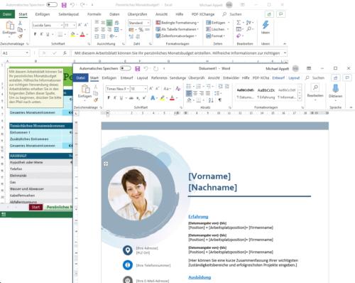 Microsoft Word und Excel gehören zu den bliebtesten Office-Programmen