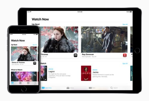 iPhone und iPad mit Streaminginhalt
