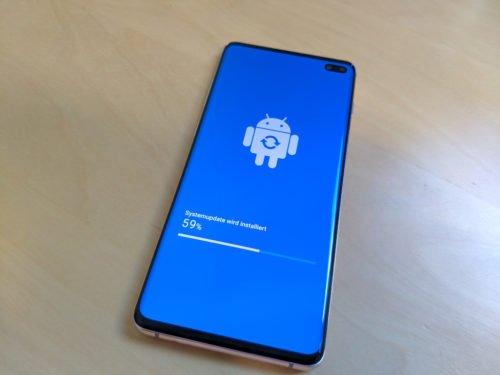 Hand verbindet sich nicht mit WLAN: Betriebssystem auf Galaxy S10 updaten