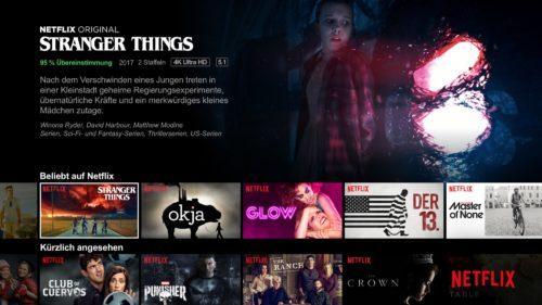 Netflix Serienübersicht