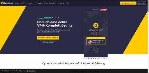 Cyber Ghost Startseite