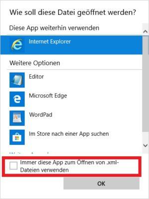 Windows 10 Standardprogramm auswählen