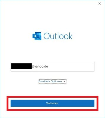 Outlook 365 über den Internet-Browser einrichten