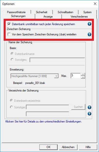 Passwort Safe Test