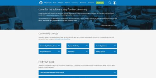 Drupal als WordPress Alternative