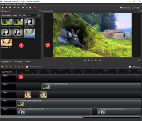 3-teilige-Ansicht-Video-Editor