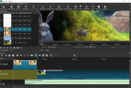 Shotcut ist auch ein Open Source Video-Editor