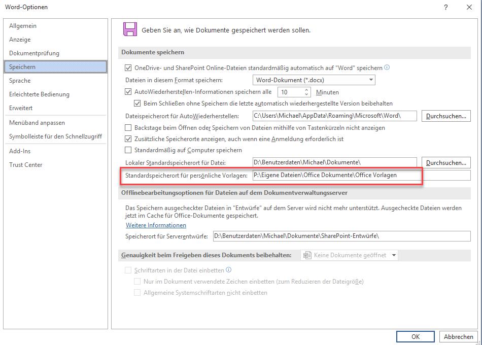 Personliche Vorlagen Von Microsoft Word Sofort Anzeigen Tipps Tricks