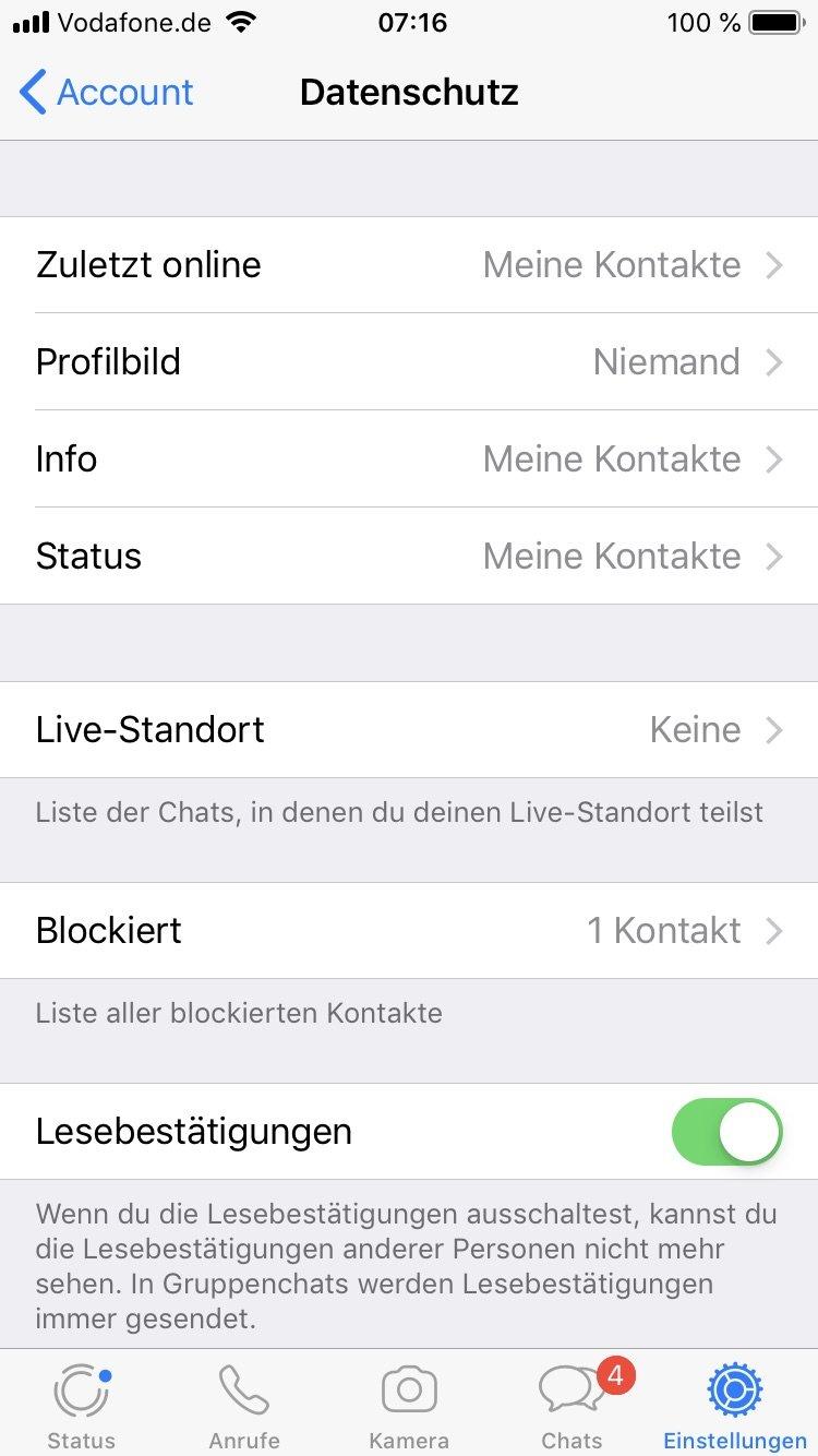 Whatsapp Profilbild Wird Nicht Angezeigt Das Sind Die Ursachen