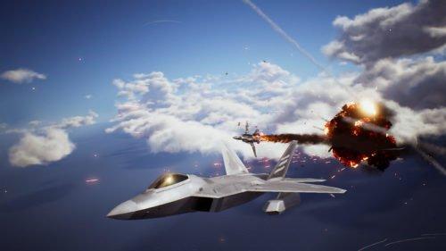 Spielszene aus Ace Combat 7 – Skies Unknown