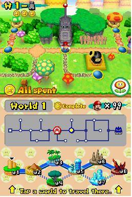 Screenshot von Super Mario World DS in Desmume