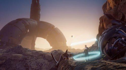 """VR Games 2019: Spielszene aus """"Eden Tomorrow"""""""