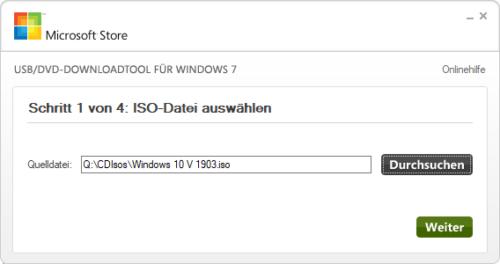 Aus einer ISO-Datei mit Windows einen bootfähigen USB-Stick erstellen