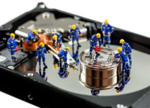 Datenrettung auf einer Festplatte