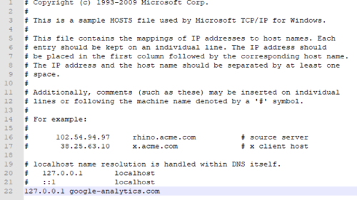 Hosts-Datei ändern oder bearbeiten